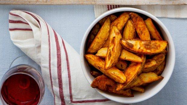 Uzené brambory