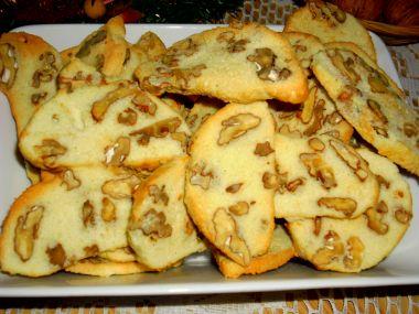 Sucharky s ořechy
