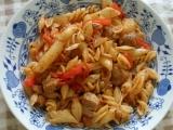 Sojové maso s těstovinami recept