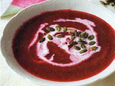 Řepná polévka mé snachy