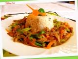 Barevné sojové nudličky s čínskou vůní recept