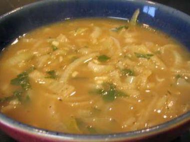 Recept Cibulová polévka po francouzsku
