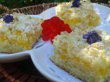 Cuketový koláč s broskvemi a drobenkou recept