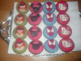 Muffiny s marcipánem (Spiderman,Angry Birds,Hello Kitty a Minnie ...