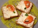 Nepravé humrové chlebíčky recept