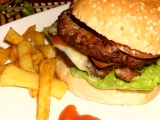 Hamburger s hranolky recept