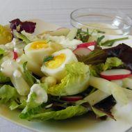 Salát s chřestem a vejci recept