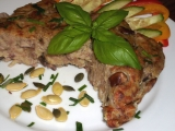 Cuketovo-bramborový nákyp s mletým masem a houbami recept ...