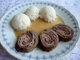 Hovězí roláda plněná anglickou slaninou recept