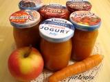 Přesnídávka jablečno-mrkvovo-broskvová recept