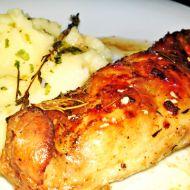 Pečené-dušené králičí stehno na másle a Chardonnay recept ...