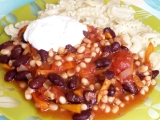 Vegetariánské chilli recept