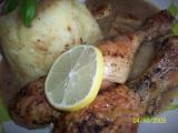 Kořeněné citronové kuře recept