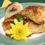 Bramborové pirožky plněné uzeným kuřecím masem recept