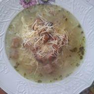 Rychlá domácí česnečka recept
