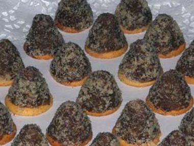 DIA Ořechové špičky s tvarohem