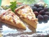 Švestkový koláč s marcipánem recept