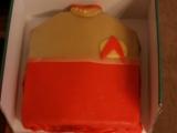 Star Trek torta (uniforma) recept