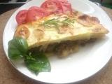 Musaka s houbami a mletým masem recept