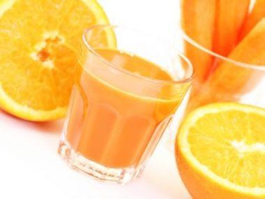 Pomerančovo-mrkvový džus