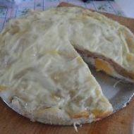 Slaný listový koláč recept