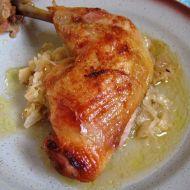 Kuře na křenovém kysaném zelí recept