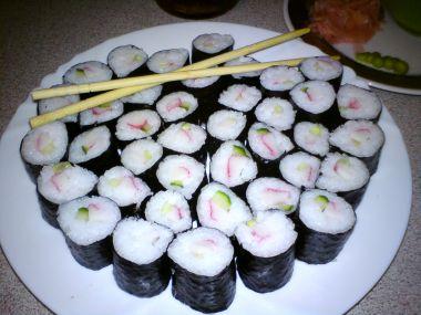 Sushi, které lze udělat doma