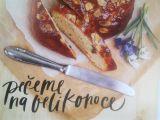 Bezlepkový velikonoční mazanec recept