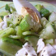 Zeleninový salát s mozzarellou recept