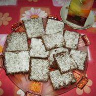 Jemné čokoládové řezy recept