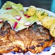 Grilovaná marinovaná kuřecí prsa recept