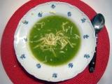 Brokolicová polévka s tymianem recept