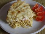 Makarony s cibulí recept