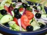 Pravý řecký salát recept