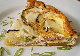 Cuketa zapečená s bramborem,uzeninou a sýrem recept ...