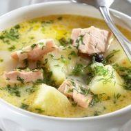 Severská polévka z lososa recept