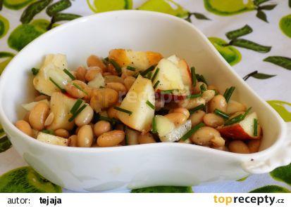 Sojový salát s jablkem recept