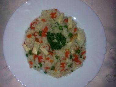 Rizoto s tofu na dělenou stravu