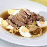 Japonská polévka s vepřovým masem recept