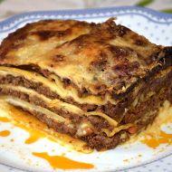 Lasagne podomácku upečené recept