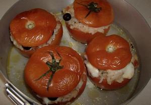 Náplň do zapékaných rajčat či paprik