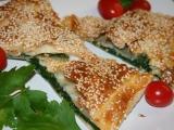 Slaný závin s listovým špenátem a zralým kozím sýrem recept ...