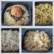 Zapečené kari špagety recept