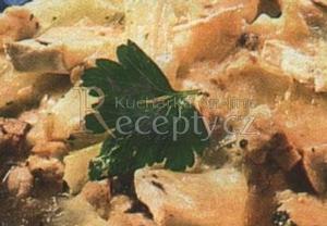 Zapečené kuře s celerem