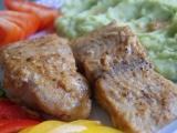 Sumeček africký s brokolicovou kaší recept