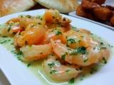 Krevety v máslové smetaně recept
