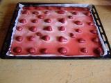Jahodové pudinkové řezy recept