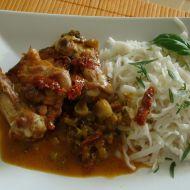 Kuřecí stehna Chakalaka recept