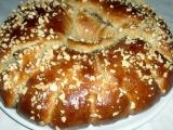 Ořechový velikonoční věnec bez pletení recept