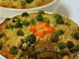 Zapečená quinoa s hráškem a zakysanou smetanou recept ...